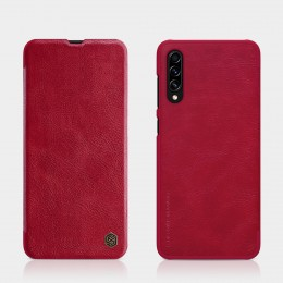 Чехол Nillkin Qin Leather Case для Samsung Galaxy A70s (2019) SM-A707 Red (красный)