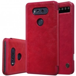 Чехол Nillkin Qin Leather Case для LG V20 F800 Red (красный)