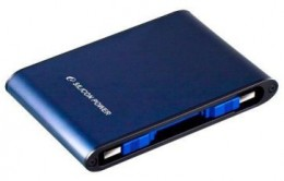 Жесткий диск Silicon Power A80 Armor 500Gb USB 3.0 Blue