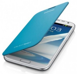 Чехол Flip Cover для Samsung GALAXY Note II N7100 синий