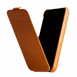 Чехол Borofone Crocodile Leather case для iPhone 5C Orange