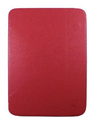 Чехол для Samsung Galaxy Tab3 10.1 P5200/5210/5220 с силиконовой вставкой красный