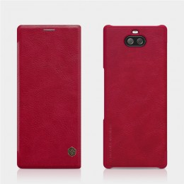 Чехол Nillkin Qin Leather Case для Sony Xperia 10 (XA3) Red (красный)