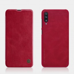 Чехол Nillkin Qin Leather Case для Samsung Galaxy A70 (2019) SM-A705 Red (красный)