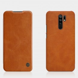 Чехол Nillkin Qin Leather Case для Xiaomi Redmi 9 Brown (коричневый)