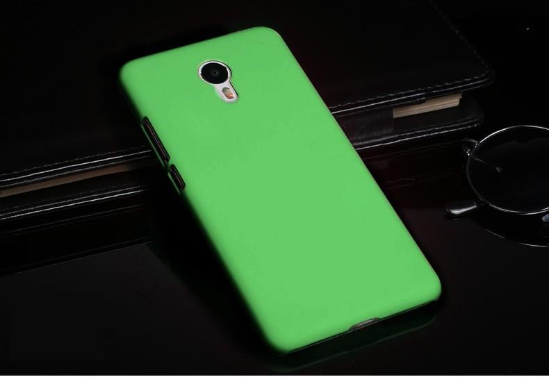 Накладка пластиковая для Meizu M3 Note зеленая