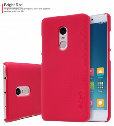 Накладка Nillkin Frosted Shield пластиковая для Xiaomi Redmi Note 4 Red (красная)