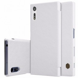 Чехол Nillkin Qin Leather Case для Sony Xperia XZ (F8331/F8332) White (белый)