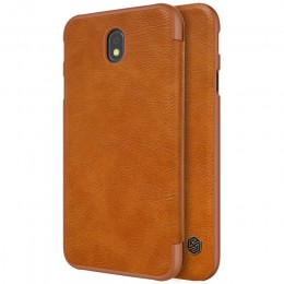 Чехол Nillkin Qin Leather Case для Samsung Galaxy J7 2017 (J7 Pro/J730) Brown (коричневый)