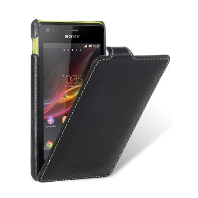 Чехол Melkco для Sony Xperia M Black