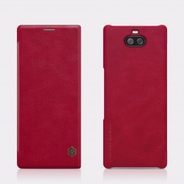 Чехол Nillkin Qin Leather Case для Sony Xperia 10 Plus (XA3 Ultra) Red (красный)