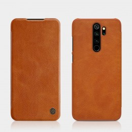 Чехол Nillkin Qin Leather Case для Xiaomi Redmi Note 8 Pro Brown (коричневый)