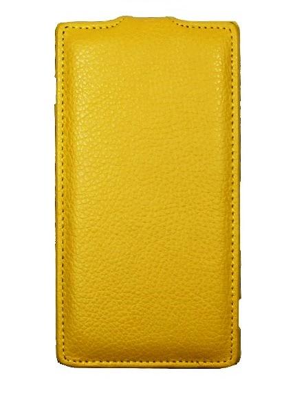 Чехол для ASUS Zenfone 2 Laser ZE500KL желтый
