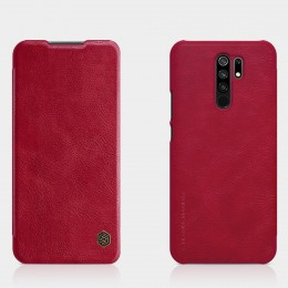 Чехол Nillkin Qin Leather Case для Xiaomi Redmi 9 Red (красный)