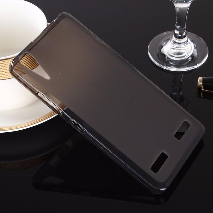 Накладка KissWill силиконовая для Lenovo K3 Music Lemon A6000 прозрачно-черная