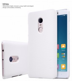 Накладка Nillkin Frosted Shield пластиковая для Xiaomi Redmi Note 4 White (белая)