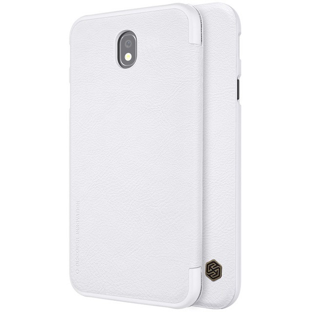 Чехол Nillkin Qin Leather Case для Samsung Galaxy J7 2017 (J7 Pro/J730) White (белый)