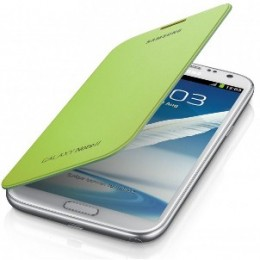 Чехол Flip Cover для Samsung GALAXY Note II N7100 зеленый