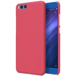 Накладка Nillkin Frosted Shield пластиковая для Xiaomi Mi Note 3 Red (красная)