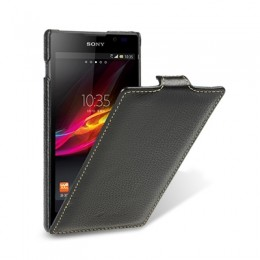 Чехол Melkco для Sony Xperia C Black