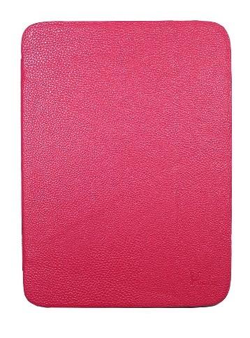 Чехол для Samsung Galaxy Tab3 10.1 P5200/5210/5220 с силиконовой вставкой розовый