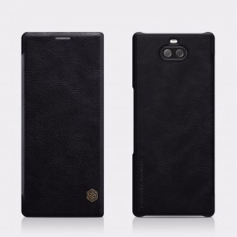 Чехол Nillkin Qin Leather Case для Sony Xperia 10 Plus (XA3 Ultra) Black (черный)