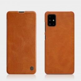 Чехол Nillkin Qin Leather Case для Samsung Galaxy A51 SM-A515 Brown (коричневый)