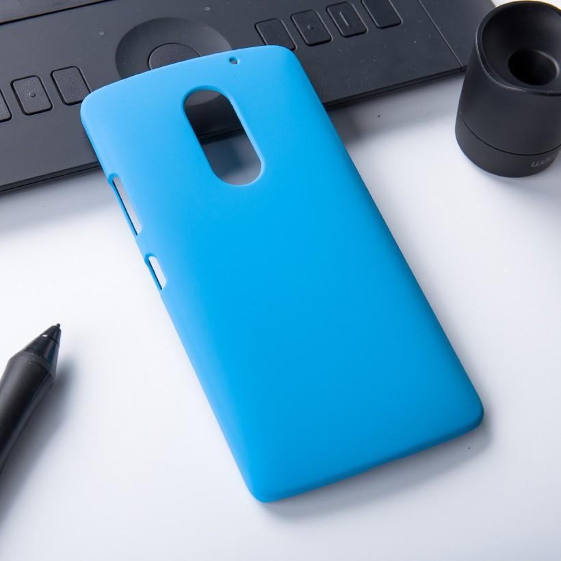 Накладка пластиковая для Lenovo Vibe X3 голубая