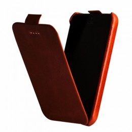 Чехол Borofone General Leather case для iPhone 5C Orange