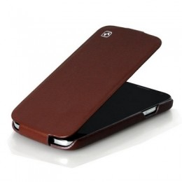Чехол HOCO Leather Case для Samsung Galaxy S4 i9500/9505 Brown