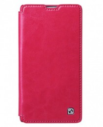 Чехол HOCO Crystal Leather Case для Sony Xperia ZR Pink