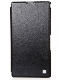 Чехол HOCO Crystal Leather Case для Sony Xperia ZR Black (черный)