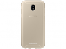 Накладка Jelly Cover для Samsung Galaxy J5 (2017) J530 EF-AJ530TFEGRU золотистая