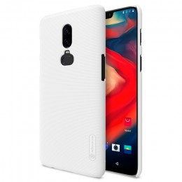 Накладка Nillkin Frosted Shield пластиковая для OnePlus 6 White (белая)