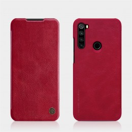 Чехол Nillkin Qin Leather Case для Xiaomi Redmi Note 8T Red (красный)