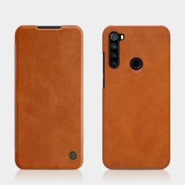 Чехол Nillkin Qin Leather Case для Xiaomi Redmi Note 8T Brown (коричневый)