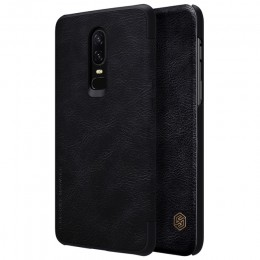 Чехол Nillkin Qin Leather Case для OnePlus 6 Black (черный)