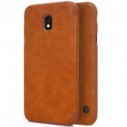 Чехол Nillkin Qin Leather Case для Samsung Galaxy J3 2017 (J3 Pro/J330) Brown (коричневый)
