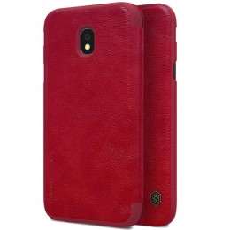 Чехол Nillkin Qin Leather Case для Samsung Galaxy J3 2017 (J3 Pro/J330) Red (красный)