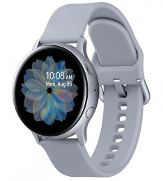 Смарт часы Samsung Galaxy Watch Active2 алюминий 40 мм Silver/Арктика