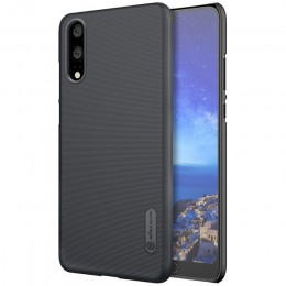 Накладка Nillkin Frosted Shield пластиковая для Huawei P20 Black (черная)