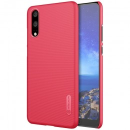 Накладка Nillkin Frosted Shield пластиковая для Huawei P20 Red (красная)