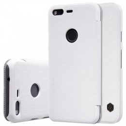 "Чехол Nillkin Qin Leather Case для Google Pixel (5.0"") White (белый)"