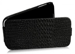 Чехол Borofone Crocodile Leather для Samsung Galaxy S4 i9500 Black