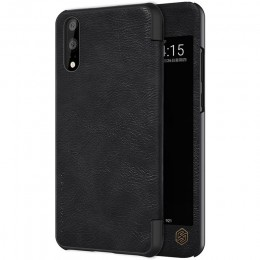 Чехол Nillkin Qin Leather Case для Huawei P20 Black (черный)
