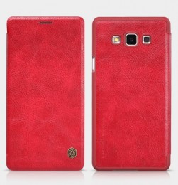 Чехол Nillkin Qin Leather для Samsung Galaxy A7 A700 Red