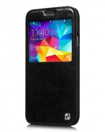 Чехол HOCO Crystal Leather Case для Samsung Galaxy S5 G900 Black