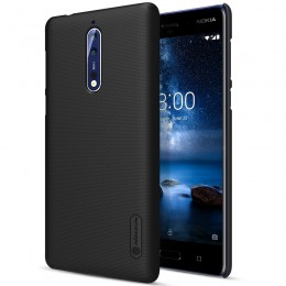 Накладка Nillkin Frosted Shield пластиковая для Nokia 8 Black (черная)