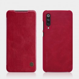 Чехол Nillkin Qin Leather Case для Xiaomi Mi9 SE Red (красный)