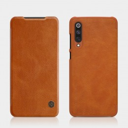 Чехол Nillkin Qin Leather Case для Xiaomi Mi9 SE Brown (коричневый)